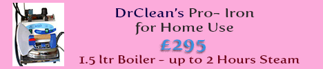 DrCLean Iron advert